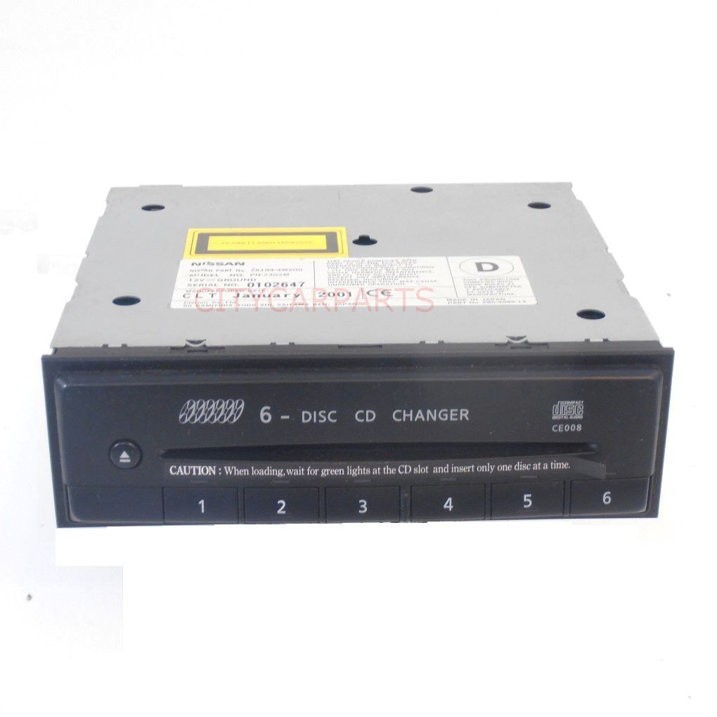 Nissan Almera N16 Models 2002 To 06 6 Cd Disc Clarion Changer Pn 2302m 28184 4m500 2 34489 P